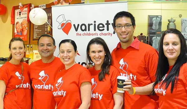 Volunteer with Variety