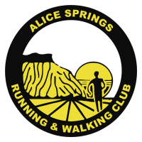 Alice Springs Running and Walking Club logo