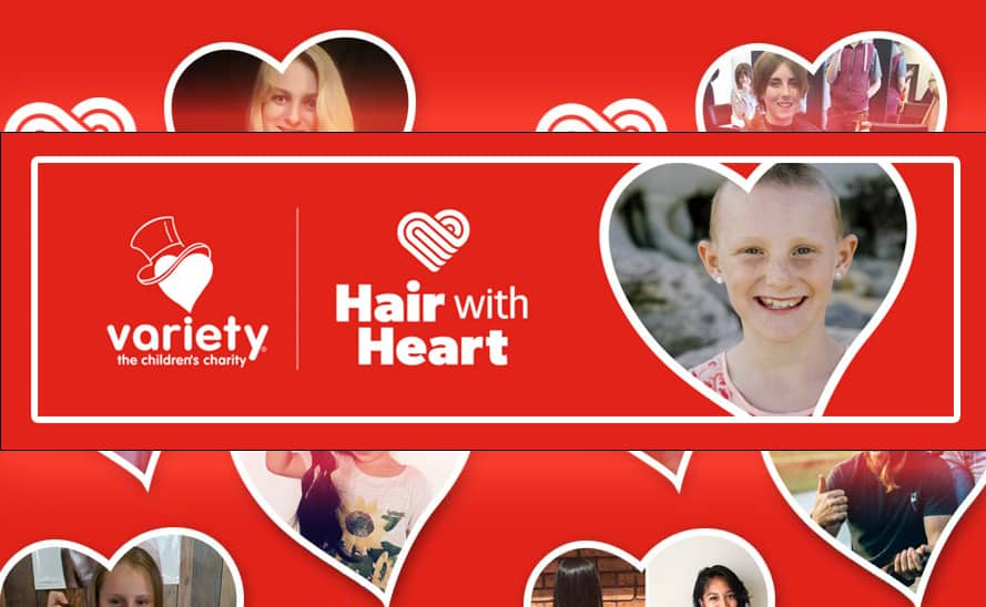 Hair with Heart – Join thousands of people donating their hair to support those in need!