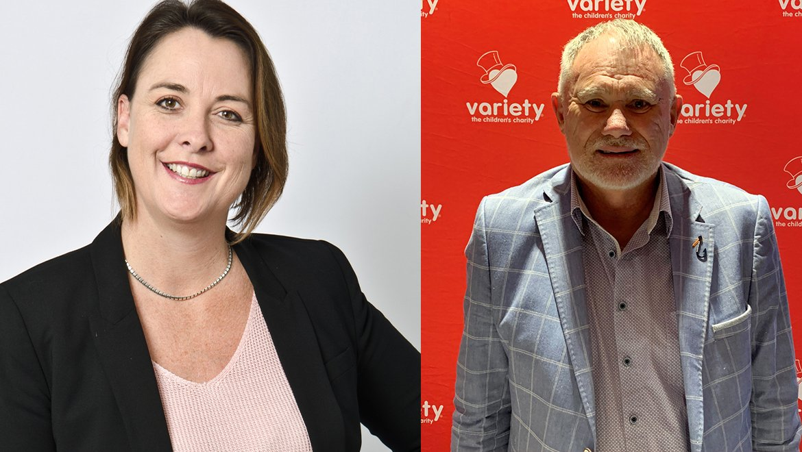 Nicole Haack the latest Variety SA Life Member as Chris Meulengraaf joins the Variety SA board